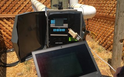 Managing vineyard irrigation with high technology