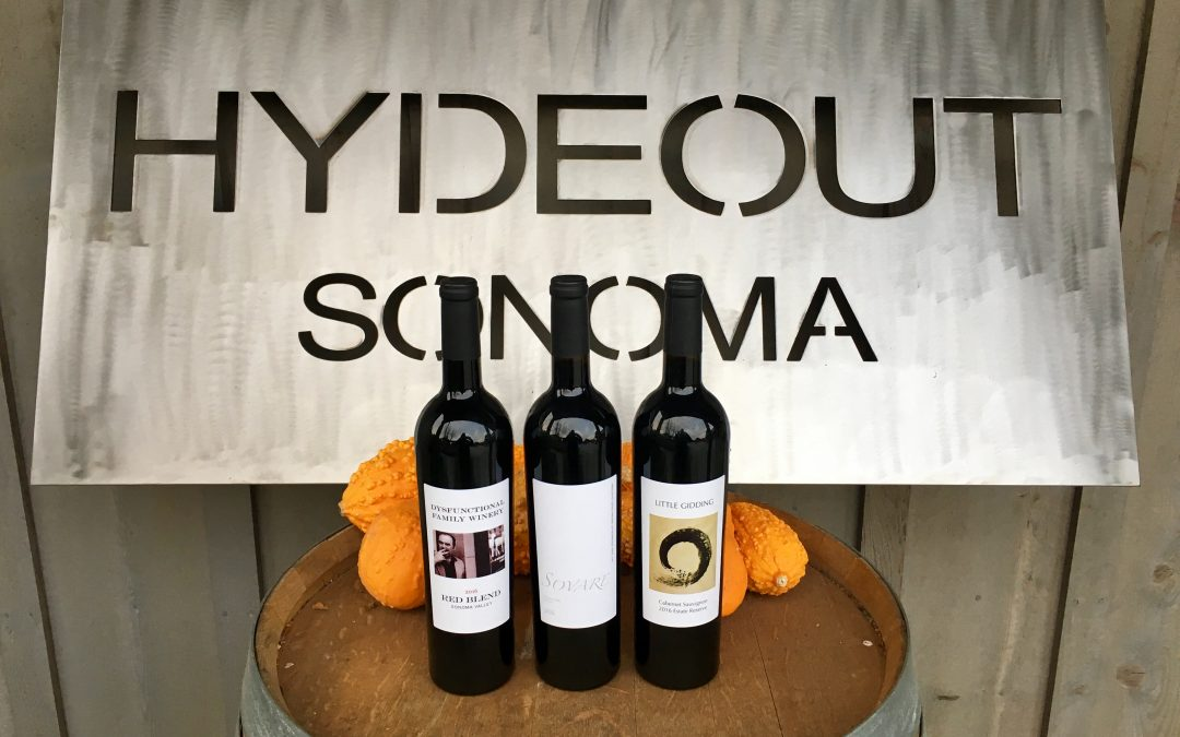 Hydeout clients release their first estate wine this week…