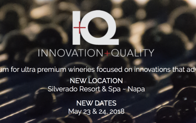 "Wine Business Monthly's ""Innovation and Quality"" Forum at Silverado Resort next week…"