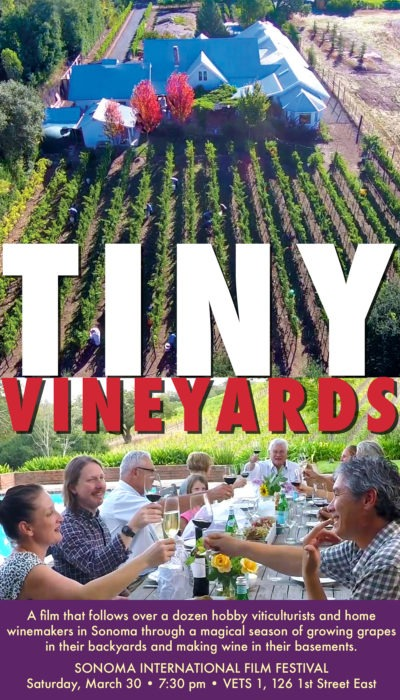 Tiny vineyard poster